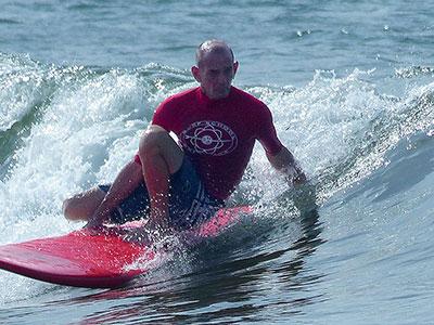 early morning waves at surf school sri lanka