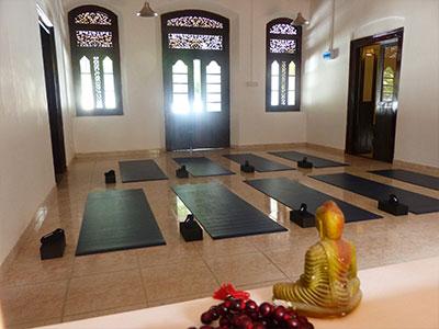 our yoga centre