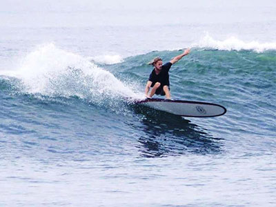 balance training for surfing at surf school sri lanka