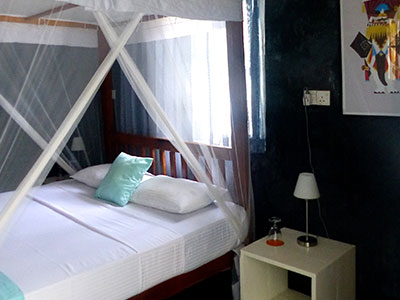 bedrooms for Surf School Sri Lanka