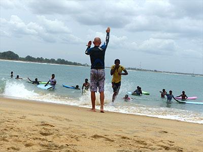sri lanka surf safety days