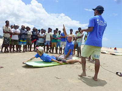 surf training surf camp sri lanka