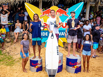 sri lanka surfing competitions