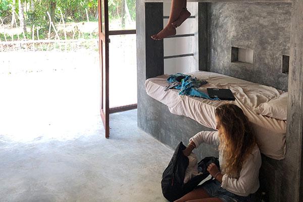 mellow hostel bunks